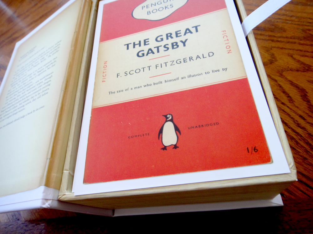 postcards from penguin - the great gatsby