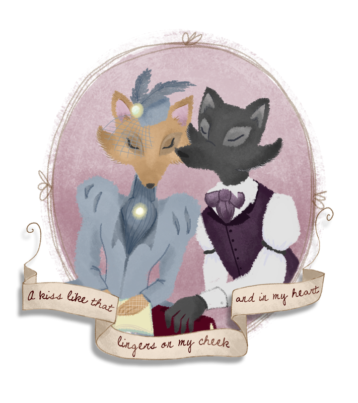 a kiss like that lingers : foxy victorians by seth macbeth