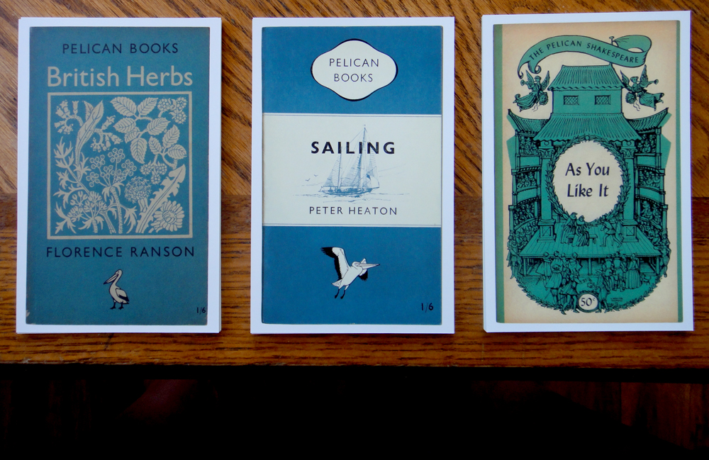 the postcards from penguin box set - love